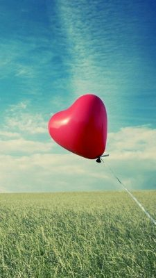 Love Ballon Android Wallpaper