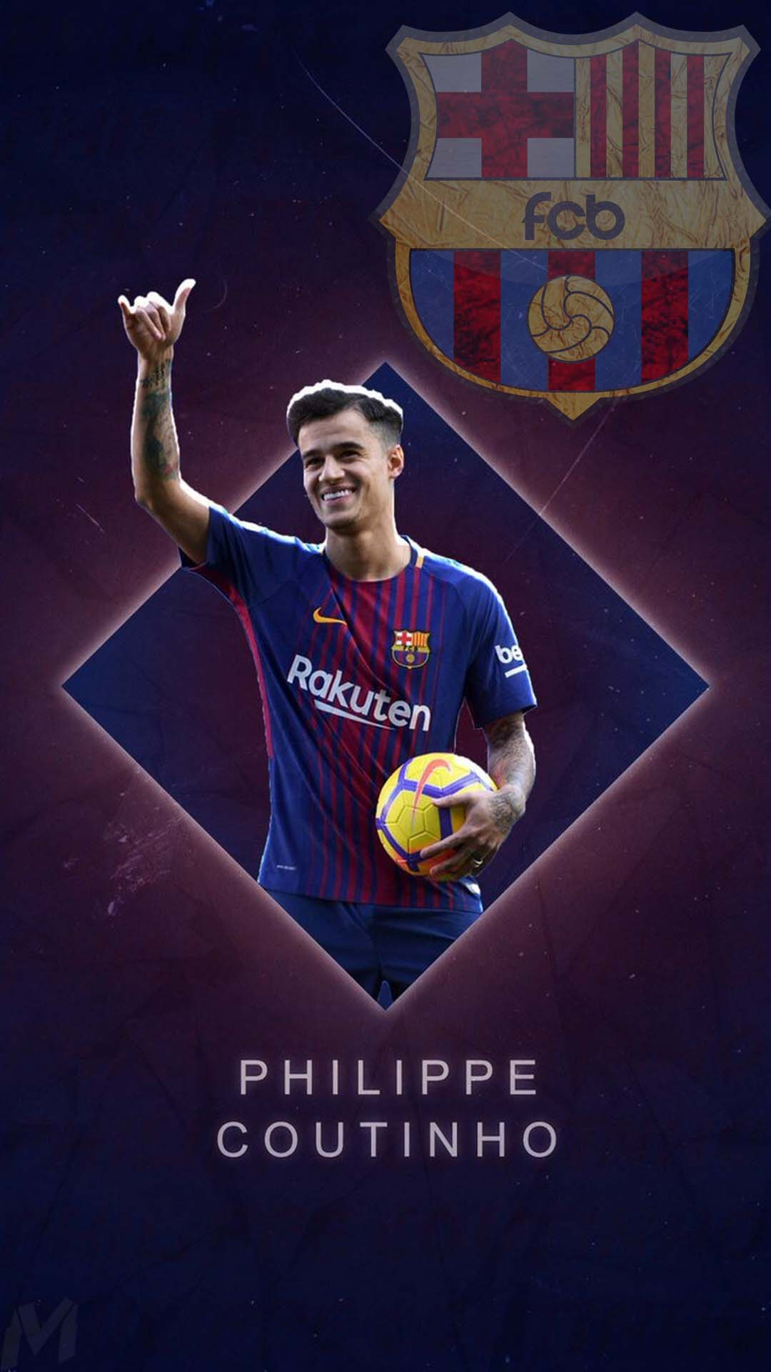 Coutinho barcelona wallpaper for android 2019 android - Coutinho wallpaper hd ...