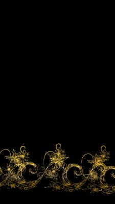 Wallpaper Android Black and Gold High Resolution 1080X1920