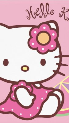 Sanrio Hello Kitty Android Wallpaper with resolution 1080X1920 pixel. You can make this wallpaper for your Android backgrounds, Tablet, Smartphones Screensavers and Mobile Phone Lock Screen