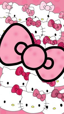 Sanrio Hello Kitty Wallpaper For Android with resolution 1080X1920 pixel. You can make this wallpaper for your Android backgrounds, Tablet, Smartphones Screensavers and Mobile Phone Lock Screen