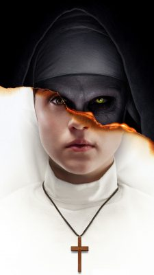 The Nun Wallpaper For Android with resolution 1080X1920 pixel. You can make this wallpaper for your Android backgrounds, Tablet, Smartphones Screensavers and Mobile Phone Lock Screen