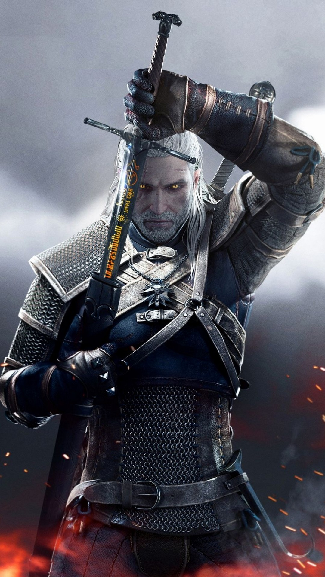 Wallpapers Phone The Witcher with high-resolution 1080x1920 pixel. You can use this wallpaper for your Android backgrounds, Tablet, Samsung Screensavers, Mobile Phone Lock Screen and another Smartphones device